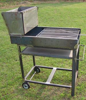 BBQ, barbecue in ferro